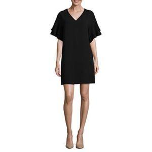 Worthington Ruffle Sleeve Shift Dress - Size 16